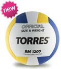 Волейбольный мяч TORRES BM1200