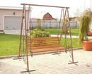 Качель кованная kk23 - спортинвентарь оптом, Пумори-Спорт, Екатеринбург
