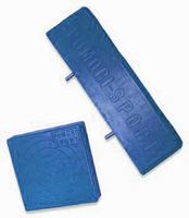Подушка средняя полиуретан синяя 38*175*175 - спортинвентарь оптом, Пумори-Спорт, Екатеринбург