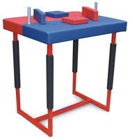 ПС63.1 Стол для армрестлинга (разборный сине-красный) - спортинвентарь оптом, Пумори-Спорт, Екатеринбург