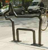 ВП01 Одиночная  велопарковка - спортинвентарь оптом, Пумори-Спорт, Екатеринбург