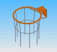 Б17 Кольцо баскетбольное антивандальное - спортинвентарь оптом, Пумори-Спорт, Екатеринбург