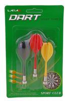 Стрелы для дартса  магнитные 3 шт. 537868 - спортинвентарь оптом, Пумори-Спорт, Екатеринбург