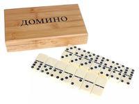 Домино SL5010В 4.9*0,9 см в дерев .коробке 537847 - спортинвентарь оптом, Пумори-Спорт, Екатеринбург