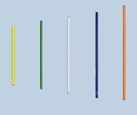 Палка гимнастическая алюминиевая с полимерным покрытием d=16, L=700мм - спортинвентарь оптом, Пумори-Спорт, Екатеринбург
