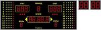 Табло для баскетбола 3х1 №7 - спортинвентарь оптом, Пумори-Спорт, Екатеринбург