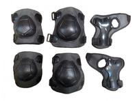 Защита роликовая тройная подростковая/взрослая, улучшенная,  в сетке А035,465 - спортинвентарь оптом, Пумори-Спорт, Екатеринбург