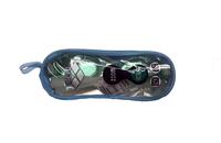 Очки для плавания Arena в сумочке на молнии,силикон, взрослые+беруши SH-16 - спортинвентарь оптом, Пумори-Спорт, Екатеринбург