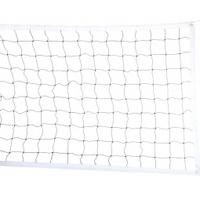 Сетка волейбольная арт.040222 размер 1*9,5м, яч 100мм, нить 2,2мм цвет белый - спортинвентарь оптом, Пумори-Спорт, Екатеринбург