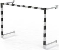В3.6 Ворота для минифутбола (створ 80х80) складные пристенные - спортинвентарь оптом, Пумори-Спорт, Екатеринбург