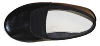 Туфли гимнатические детские (кожа, черные) - спортинвентарь оптом, Пумори-Спорт, Екатеринбург
