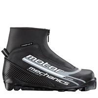 Ботинки лыжные MOTOR  MECHANICS COMFORT SNS ИК черн-лого серый ИК35К-01-14 - спортинвентарь оптом, Пумори-Спорт, Екатеринбург