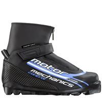Ботинки лыжные MOTOR  MECHANICS CONTPOL  SNS ИК черн-лого синий ИК35КР-01-08 - спортинвентарь оптом, Пумори-Спорт, Екатеринбург
