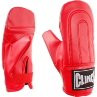 Перчатки снарядные CLINCH красные (С203-R) - спортинвентарь оптом, Пумори-Спорт, Екатеринбург