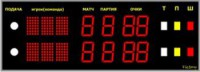 Электронное табло для тенниса - спортинвентарь оптом, Пумори-Спорт, Екатеринбург