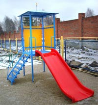 700.563 Горка со скатом из пластика - спортинвентарь оптом, Пумори-Спорт, Екатеринбург